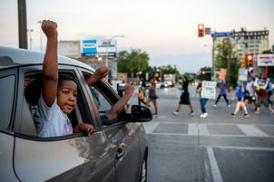 George Floyd Dallas Memorial Service & Protest