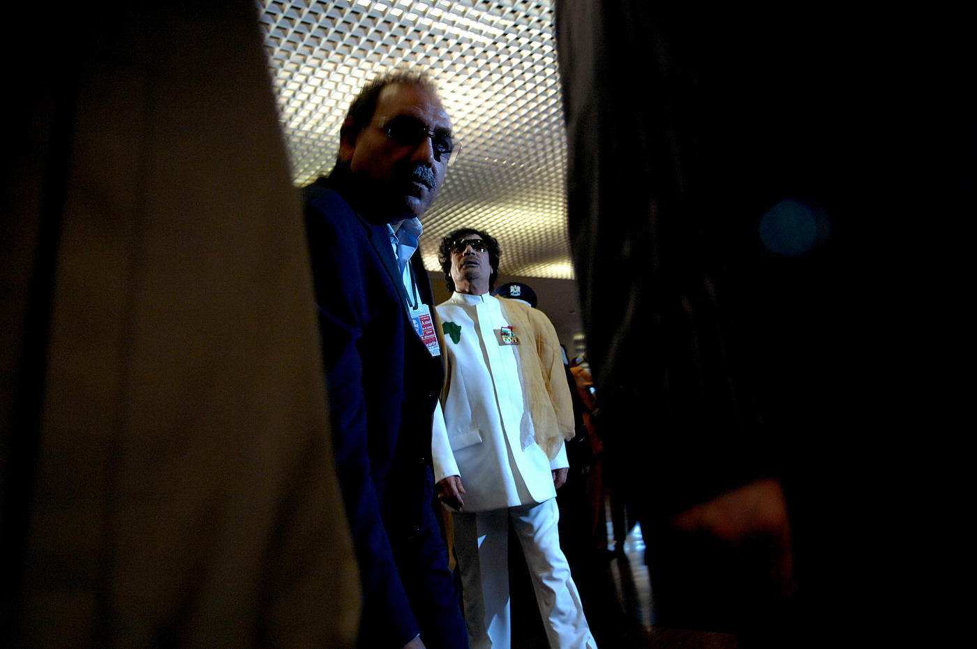 2008 Muammar Gaddafi