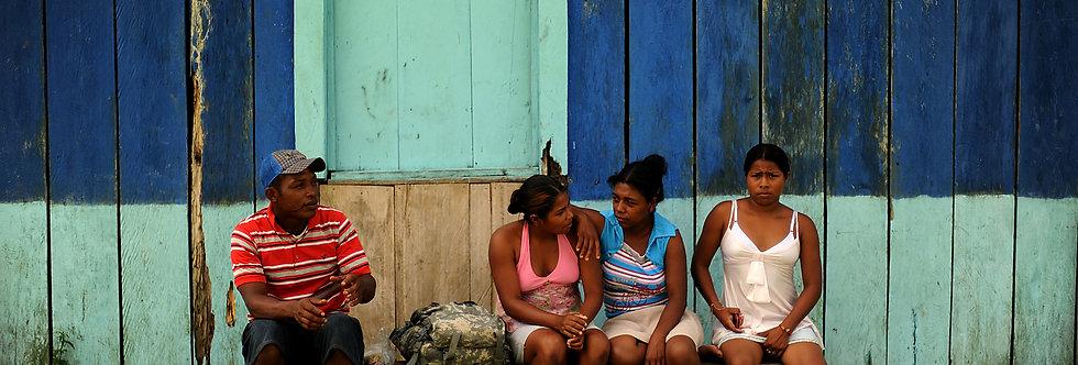 Patient's, Mosquito Coast, Honduras. April, 2012.