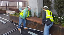 70 Rainey Live Edge Wood Slab Benches