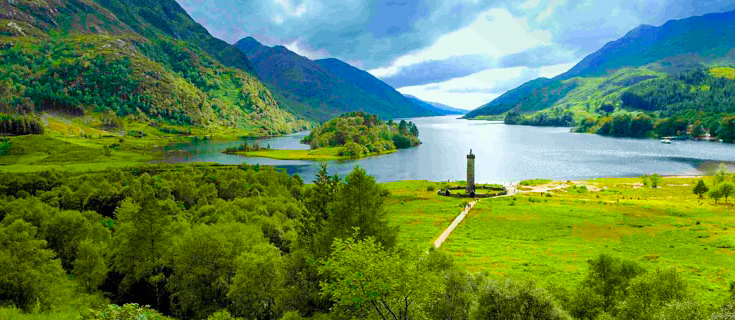 Prince Charlie Monument Glenfinnan
