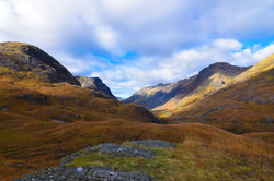 Glencoe from above meeting of three waters oct 2016