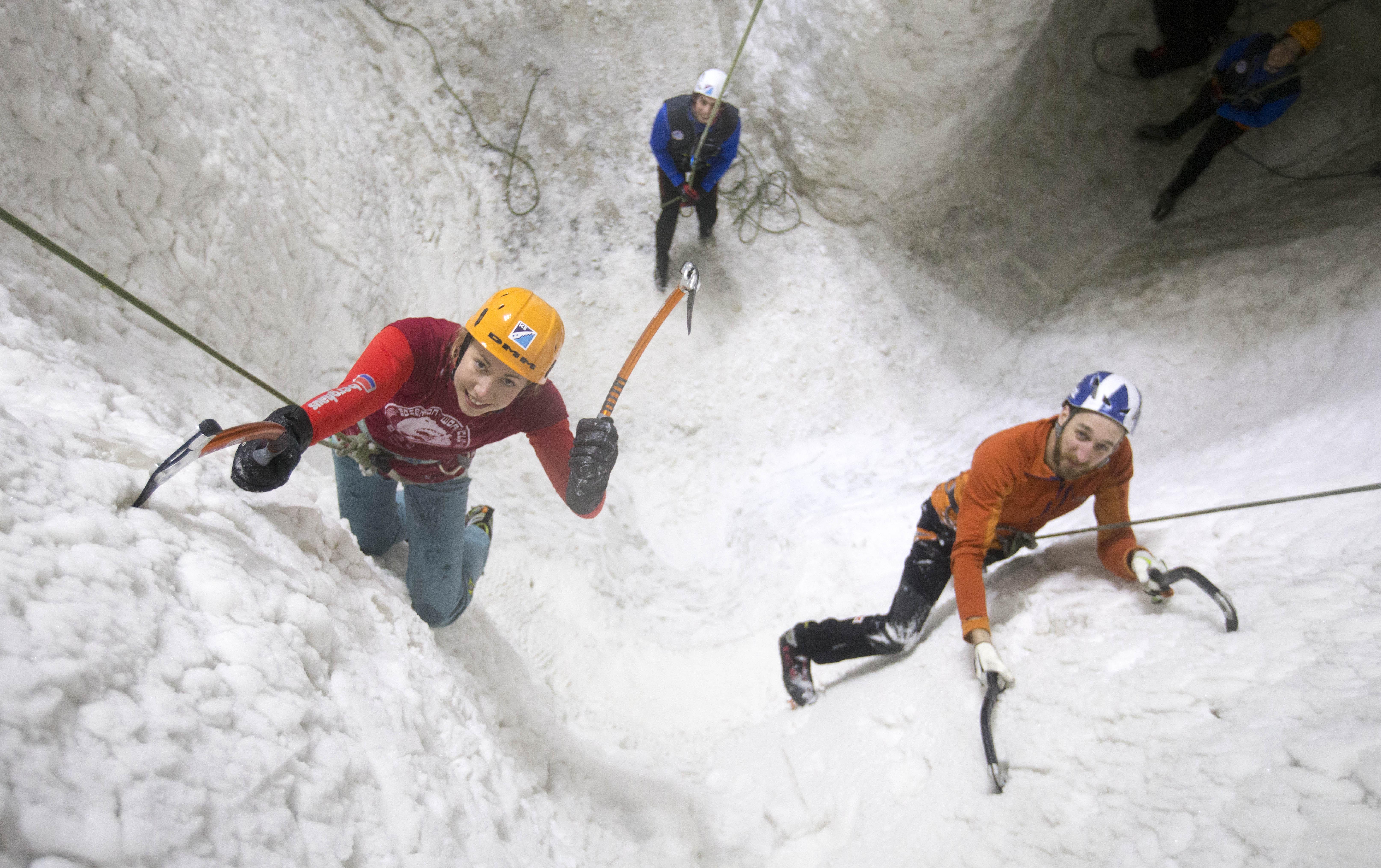 Ice Factor Ice Climbing