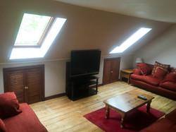 tv room minard cottage glencoe