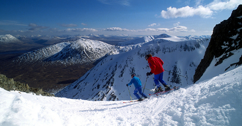 Ski in Glencoe