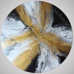 WISH - Resin Art, Round