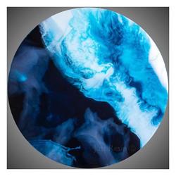 Tidal - Resin Art, Round