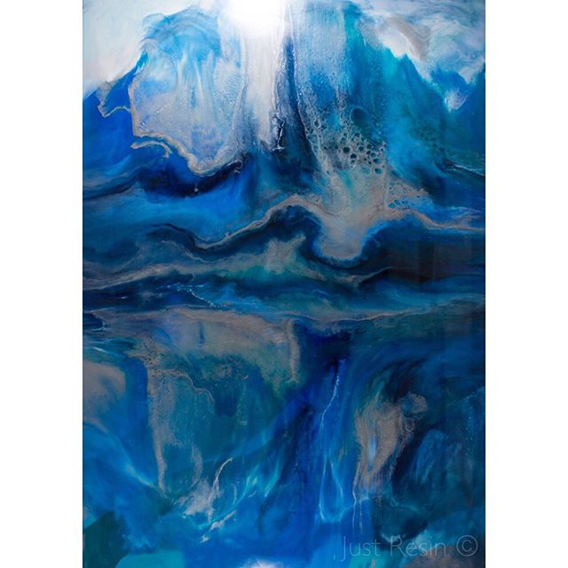 Resin Art - Rhapsody - 1800x2600mm