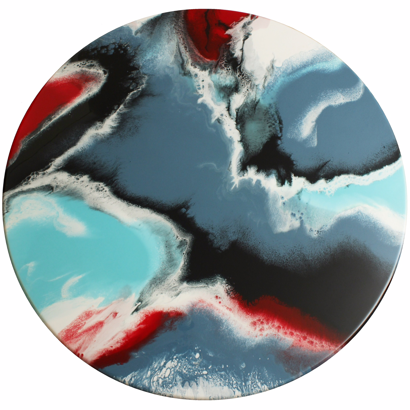 Whimsical - Resin Art, Round