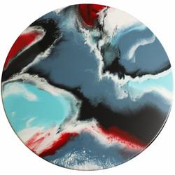 Whimsical - Resin Art, Round