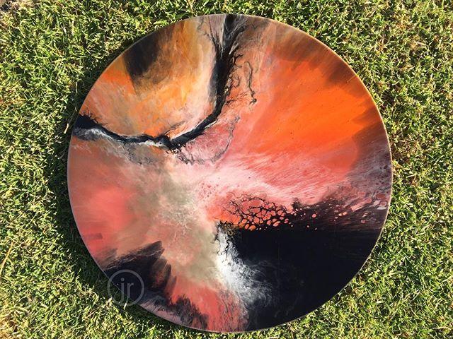 Resin Art - Round
