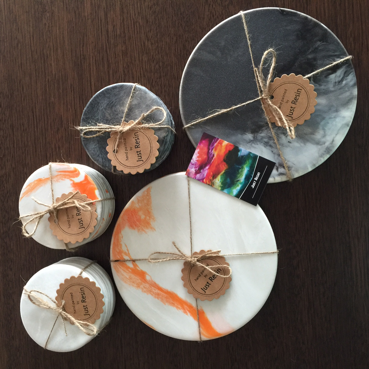 Coasters & XL Coasters - Resin Art