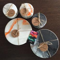 Coasters & XL Coasters - Resin Art