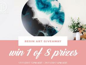 Resin Art Giveaway