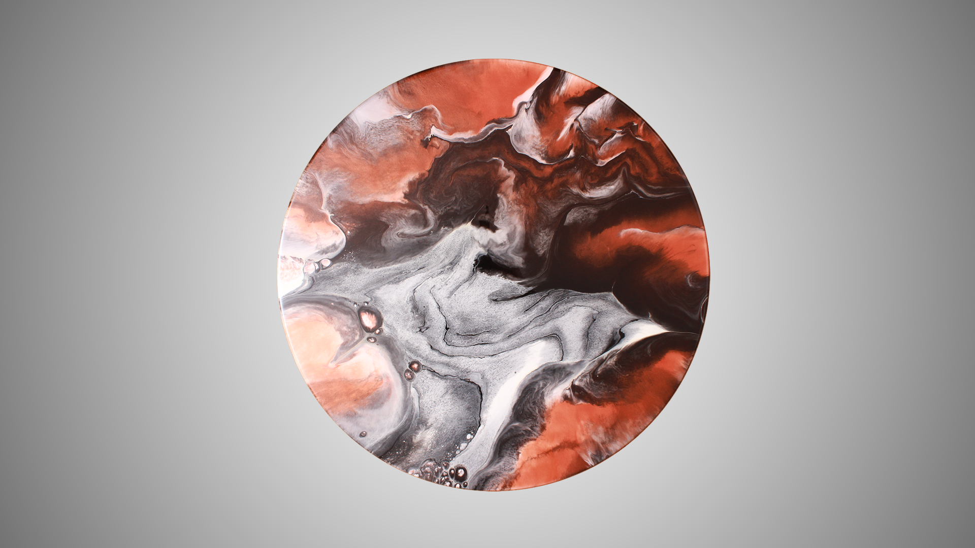 Rame - Resin Art, Round