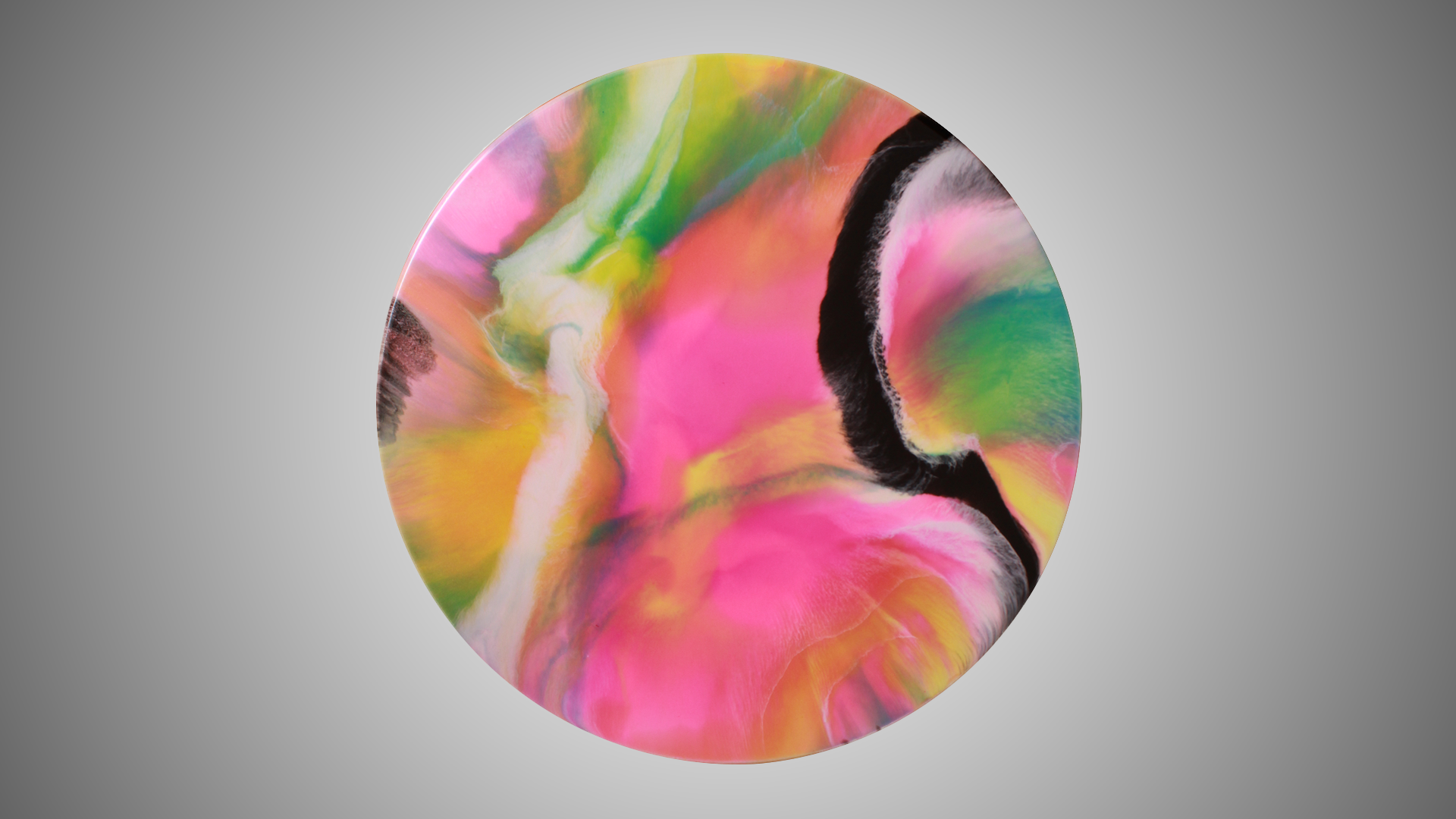Effulgence - Resin Art, Round