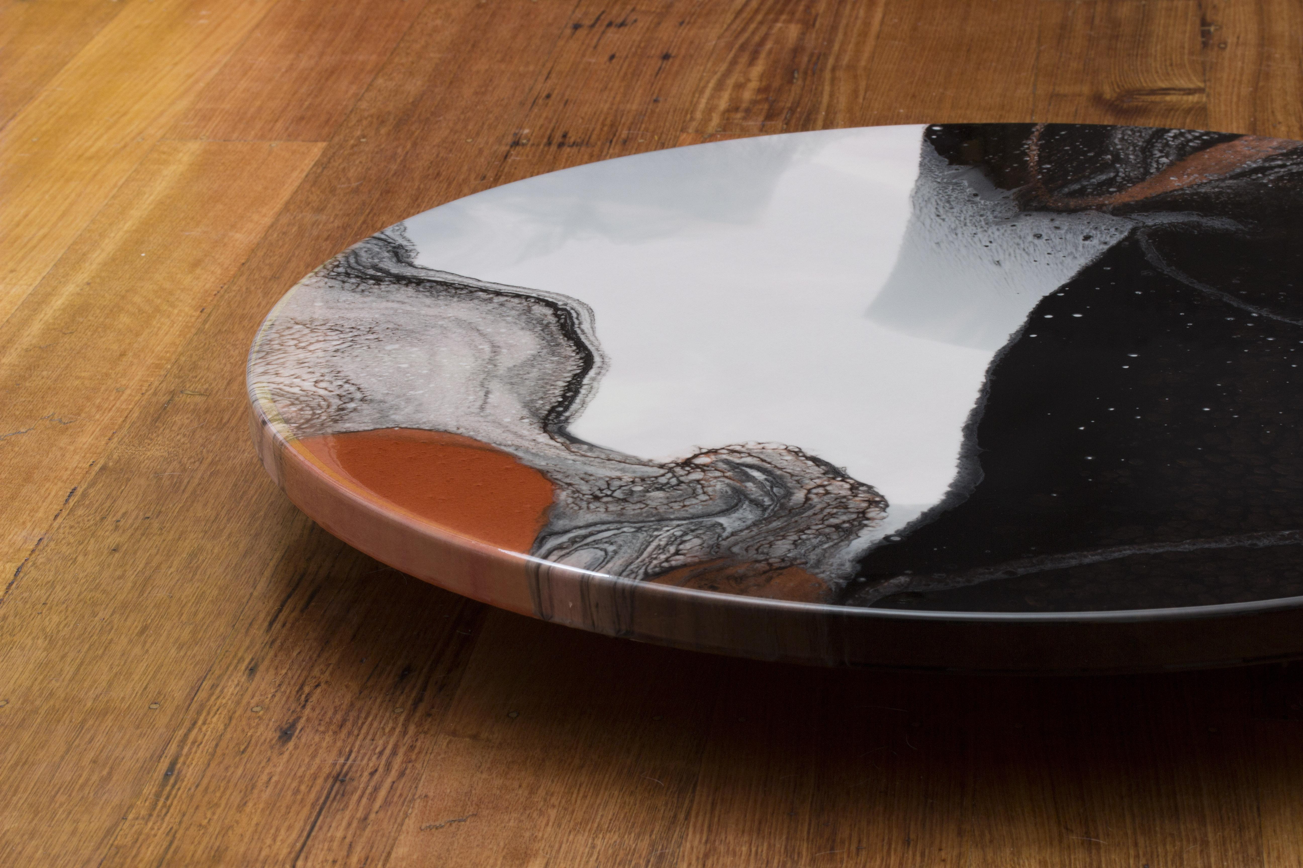 Semplicità 29 - Resin Art, Round