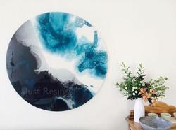 Resin Artwork - Zephyr