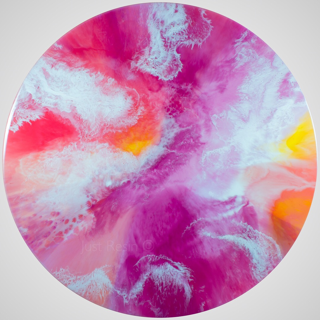 Round Resin Art - Just Resin