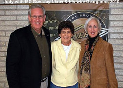 Judy with Governor Jay Nixon and His Wife at NEET in 2010