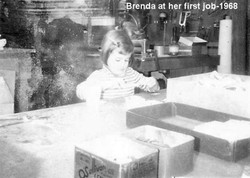 Brenda When She Was a Child in the Archery Workshop Looking at Her First Job in 1968