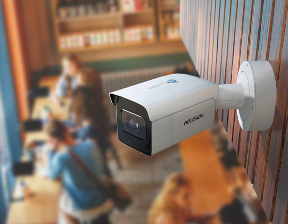 Övervakningskameror för alla typer av företag.