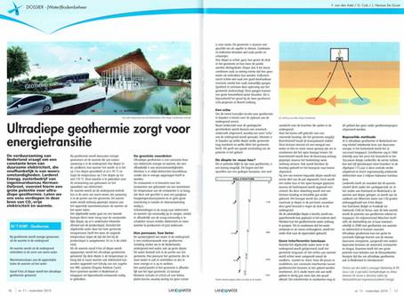 Larderel Energy in vakblad  Land + Water