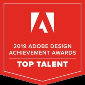 Adobe 2019 Top Talent Design Award