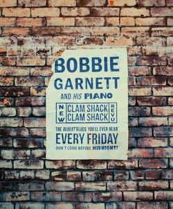 """""""Bobbie Garnett"""" show poster"""