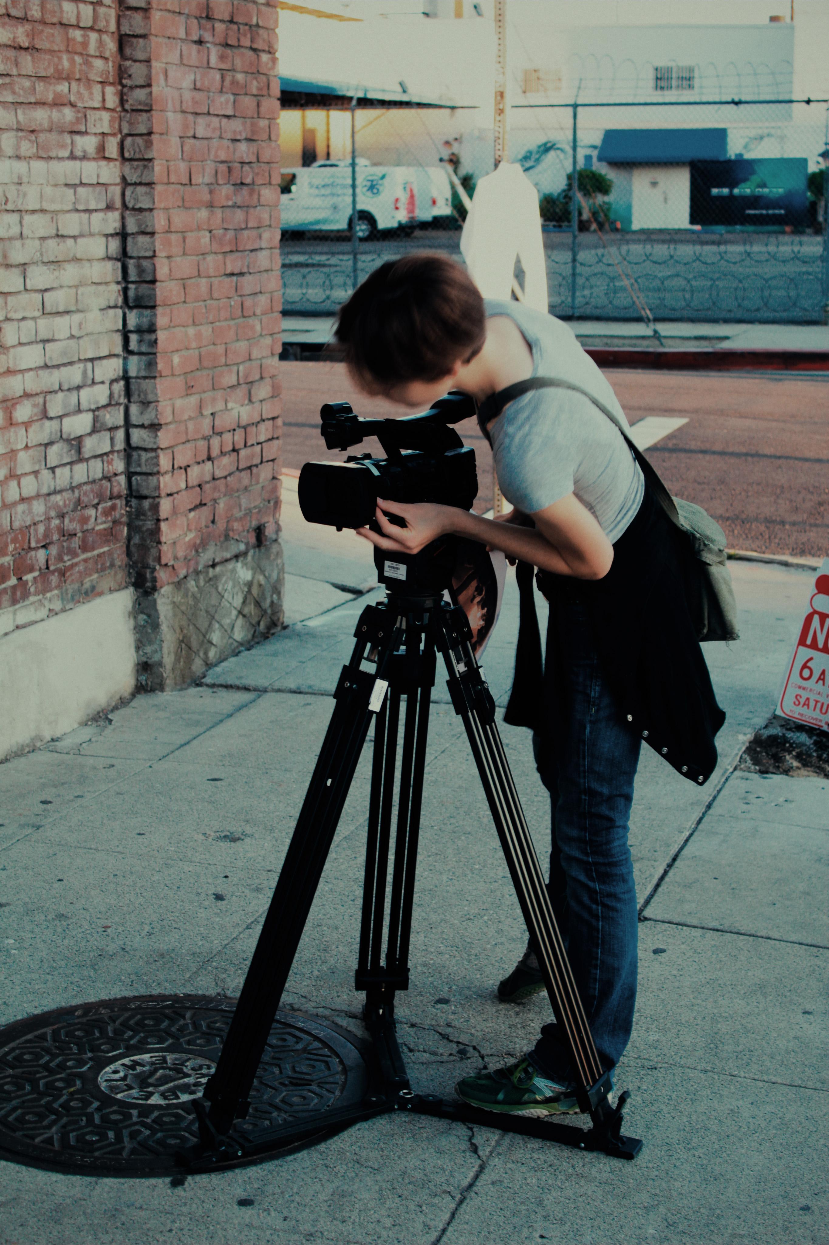 Cinematographer Emma Huibregtse