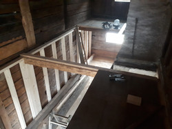 Einbau Massivholzgeschossdecken 2