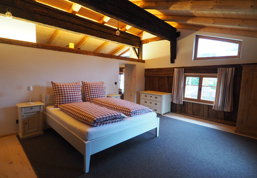 Schlafzimmer OG Ferienwohnung Lexar Hüs