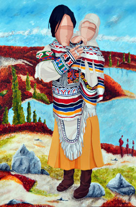 Amautik (parka in Inuit language) - Amautik (parka em linguagem Inuit)