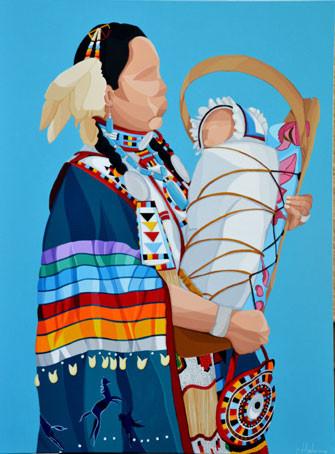 okâwîmâw (ᐅᑳᐄᐧᒫᐤ  mother in Cree) - okâwîmâw (ᐅᑳᐄᐧᒫᐤ  mãe em linguagem Cree)