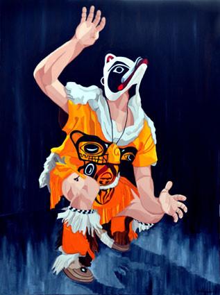 Kaagwaantaan (Wolf in Tlingit language) - Kaagwaantaan (Lobo na linguagem Tlingit