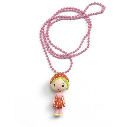 Colar amuleto Tinyly - Berry - Djeco