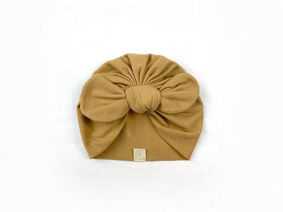 Hibbie turban - Peanut