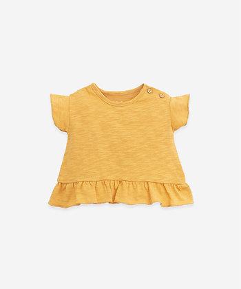 T-shirt folhos - Sunflower - PlayUp