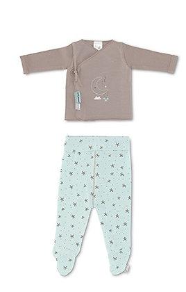 Conjunto Kimono + Calças - Casual