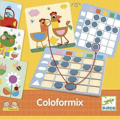 Jogo de descobrir formas e cores - Djeco