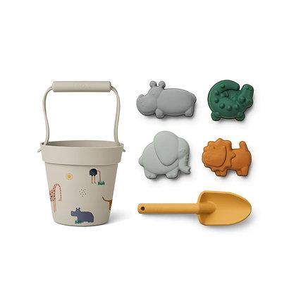 Set Brinquedos de Praia - Safari - Liewood