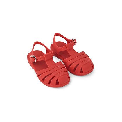Sandálias Bre - Vermelho Maçã - Liewood