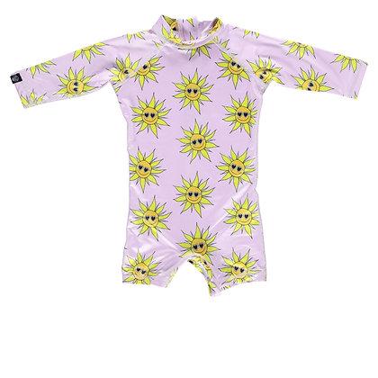 Sunny Flower BabySuit - Fato de Banho