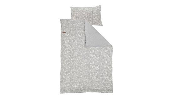Capa de Edredão cama solteiro Adventure Grey