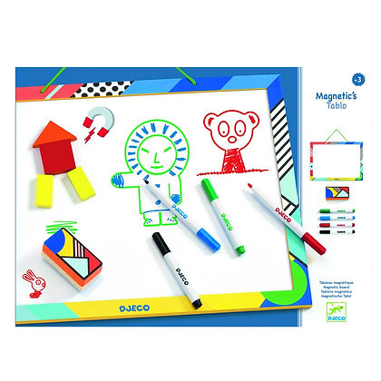 Quadro Branco Magnético para desenhar - Djeco