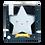 Thumbnail: Luz de presença Estrela Branca