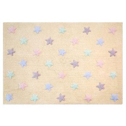 Tapete Lavável Tricolor Stars Vanilla