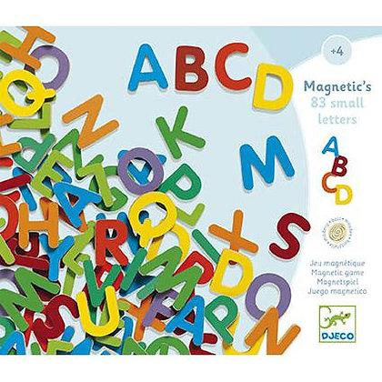 83 Letras Maiúsculas Magnéticas - Djeco