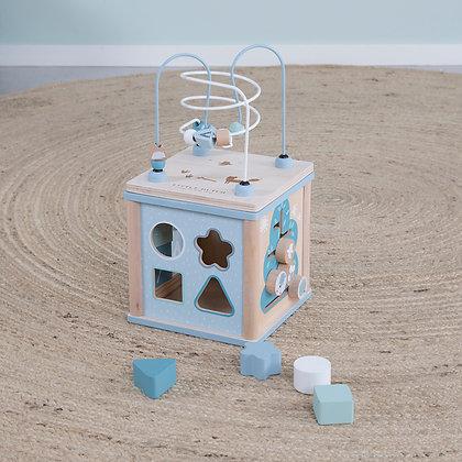 Cubo de Atividades -Azul