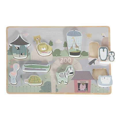 Puzzle de Encaixe – Zoo